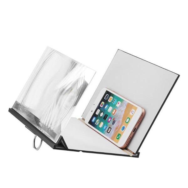 Yığın Cep Telefonu Tutucular Standlar Alloet Cep Telefonu Ekran Büyüteç Gözler Koruma Ekranı 3D Video Ekran Amplifikatör Büyütülmüş ...