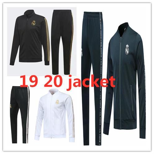 19 20 New Real Madrid jacket training suit ASENSIO MODERIC 2019 2020 VINICIUS JR long sleeve zipper tracksuit training Football jacket coat