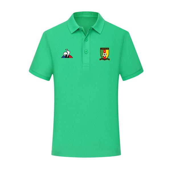 2019 Cameroon national team Polo Soccer Jerseys 19 20 Cameroon maillots foot polo Football shirt 2019/20 Cameroon Polo shirt Running Jerseys