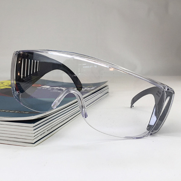 Multi-Purpose Shatterproof Protective Fashion Glasses Safety Anti PC Louver-style Anti- Anti Fogging Anti-Dust