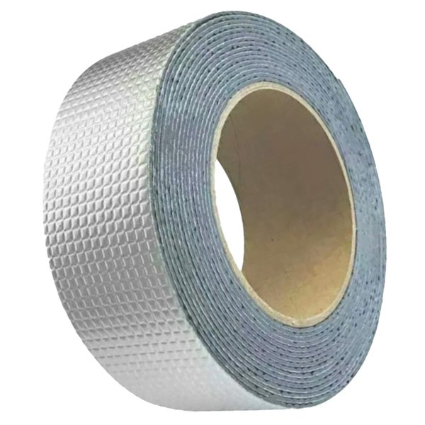 best selling Aluminum Foil Reflective Duct Tape, 5meters, Heavy-Duty HVAC Aluminum Metal Duct Tape for Metal Pipes, Air Vents, Furnace, and AC Units