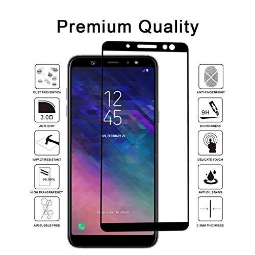 For am ung j2 core j3 emerge 2017 j7 2018 j737 a6 lg ari to 3 9h edge curved anti fingerprint full cover creen protector tempered gla