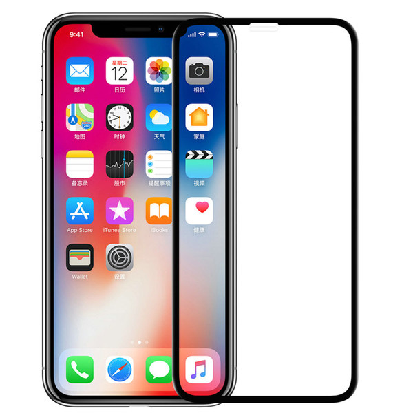 3D AP+PRO Original Glass for iPhone XS Max Tempered Glass iPhone XR Screen Protector 0.23MM 9H 3D Touch for iPhone XS X Glass