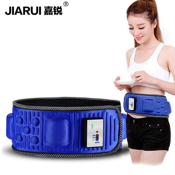 Slimming Belt Electric Weight Lose Sauna Belt Vibration Massage Burning Fat Lose Weight Shake Belt Waist Trainer Y181122