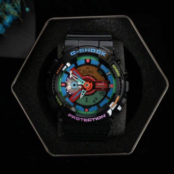 G-Watch MARVEL limited edition мужские часы резиновый ремешок Железный Человек и Капитан Америка противоударные часы дизайнер водонепроницаемые часы