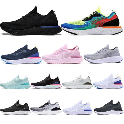 2019 yüksek Epic React v2 Tasarımcı erkekler kadınlar uçmak Ayakkabı BEACH örgü Sprite Belçika PE Alacakaranlık Alacakaranlık BETRUE Oreo GS çalışan spor Sneaker