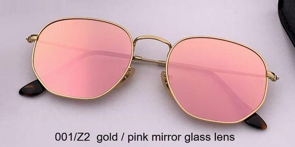 001 / Z2 الذهب / عدسة مرآة الوردي الكرز