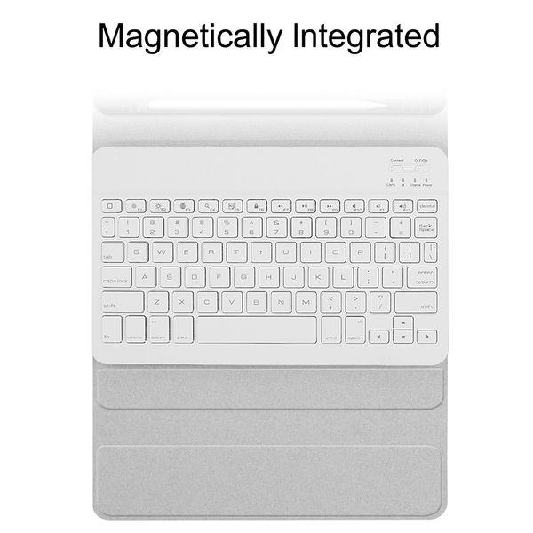 Nuova tastiera caso BT senza fili per il Pro Caso 11 Tablet con Cuoio Wireless tastiera inglese compresse Set