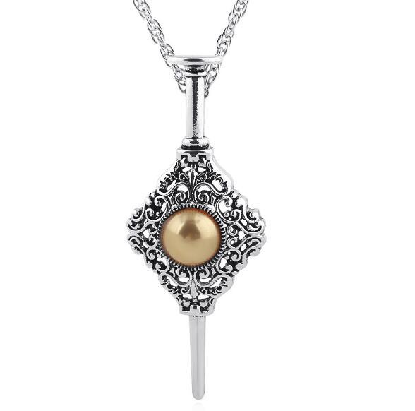 Vintage Fantastic Beasts Grindelwald Blood League Necklaces Pendants Chic Crystal Choker For Men Women Jewelry Gift