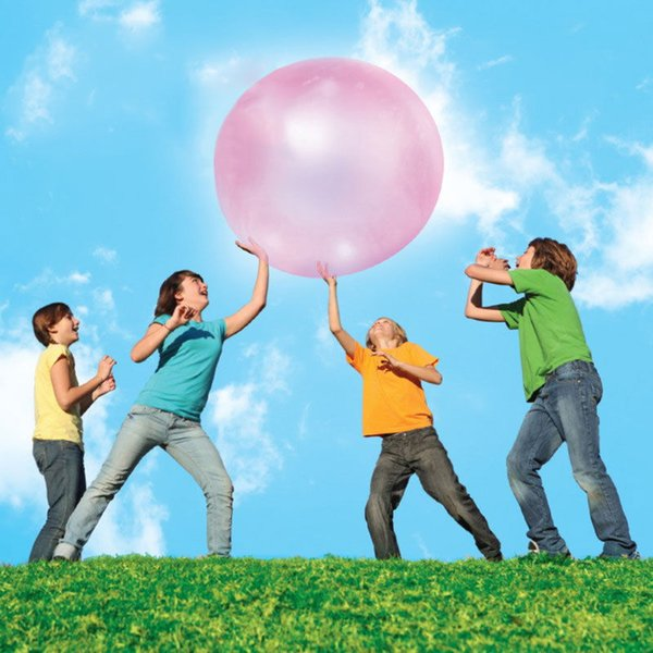 Bubble Balloon 30CM Transparent Bubble Ball Beach Inflatable Toy Super Tear-Resistant Water-filled TPR for children Outdoor Fun gadgets