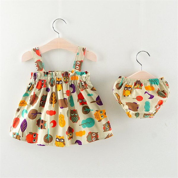 good quality new cartoon 2019 toddler girls clothing sets small children girls clothes set casual summer dress and shorts baby suits