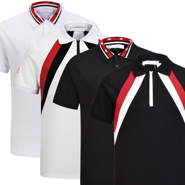 abc13652884 / Mode Designer Herren Polo Shirt T-Shirt Kurzarm Medusa Polo T-Shirt Gestickte Brief Herren Polo Shirt