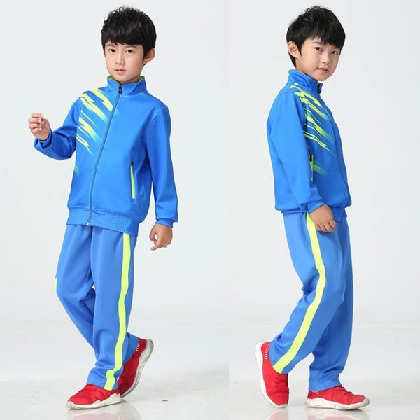 Children's blue with blue pants