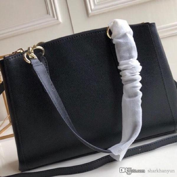 Nouveau Classique Femmes Sac à main Designer Mode Luxe Cuir Fabrication en métal LOGO Double Zipper Single Sac à bandoulière nombre: 36637 +2