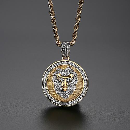 Cor de ouro corda Cadeia de 18 polegadas (46 centímetros)
