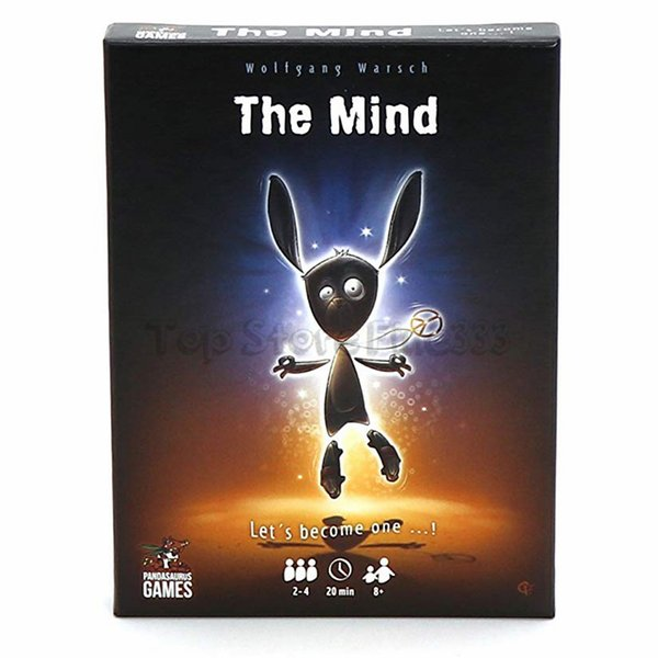 The Mind Card Game Board Game Meld minds with your fellow players to play cards in order WITHOUT talking
