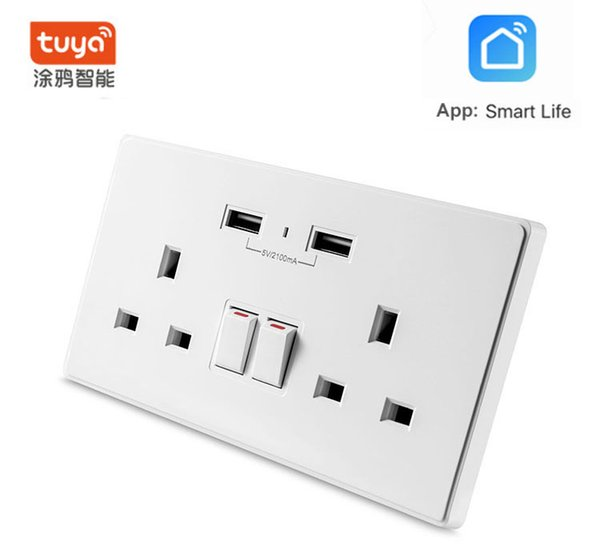 Smart Wifi Socket Switch US Plug Remote Control Socket Outlet Timing Switch Socket for Smartphone Android IOS Home Automation