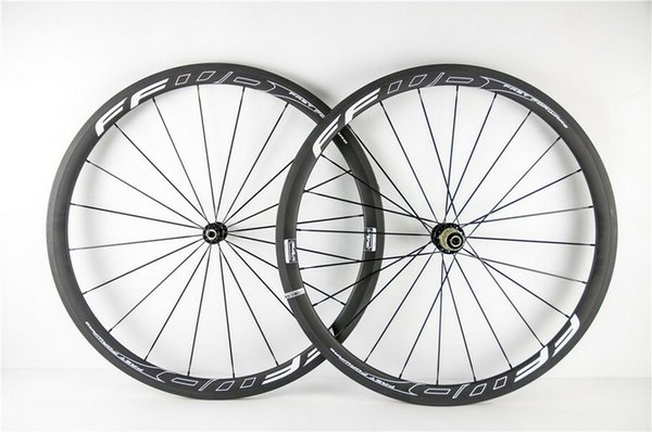 FFWD 38MM Hollow Road Bike carbon fibre wheels clincher with powerway R36 hub carbon wheelset road bike bicycle wheel