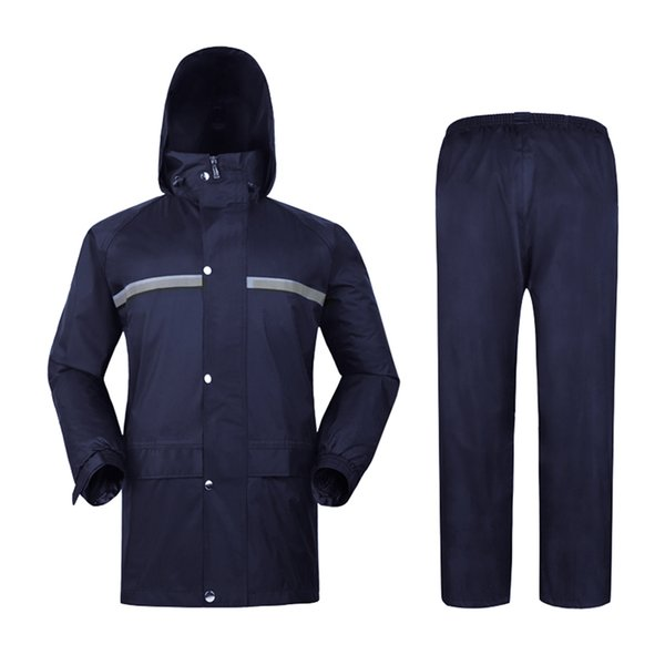 Long Raincoat Men Hiking Waterproof Jacket Poncho Woman's Jackets Rain Suit Chuva Coat Man Motorcycle Raincoats Hooded RBY046