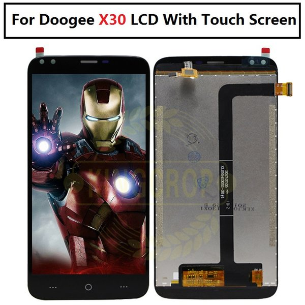 For Doogee X30 LCD Display+Touch Screen Assembly Repair Part 5.5 inch Phone Accessories For Doogee X30 Cellphone Part
