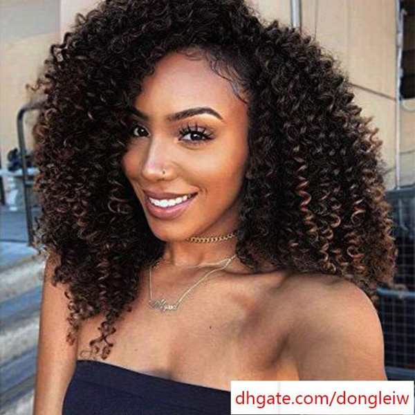 "6pcs 8"" Marlybob Crochet Hair Extension Marlibob Water Wave Kinky Curly Jerry Curly Braiding Crochet Hair Marley Braid Hair Bundle"