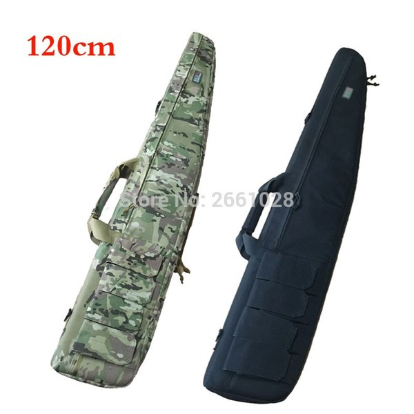 120cm Tactical Outdoor Gun Carring Bag Military Rifle Case Shoulder Pouch Rifle Backpack for Hunting #109388