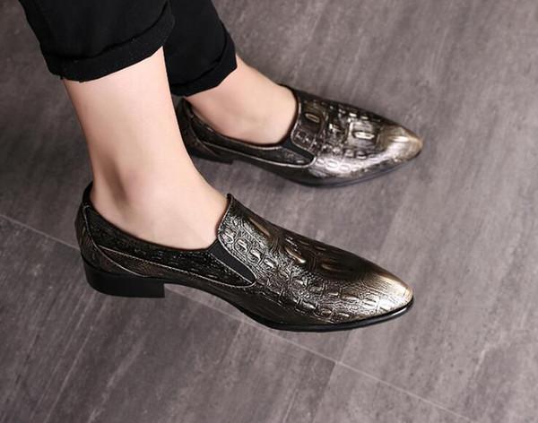 coiffeur zapatos formales para hombre rhinestone para hombre zapatos de vestir sepatu slip en mocasines pria hombres zapatos de boda moda italiana de hombre bona
