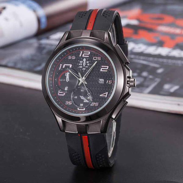2019 hot top reloj de lujo para hombres DAYDATE relojes automáticos de acero inoxidable reloj de cuarzo deportivo zafiro reloj de pulsera impermeable B006