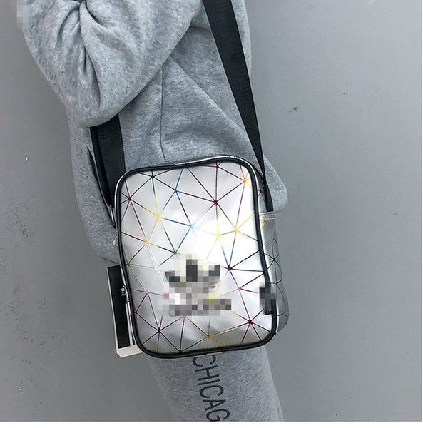 Brand Laser ADI Fanny pack Crossbody Shoulder Bag Design Men Women Cross Shoulder Messenger Bags Sports Travel Beach Totes Bags C52404