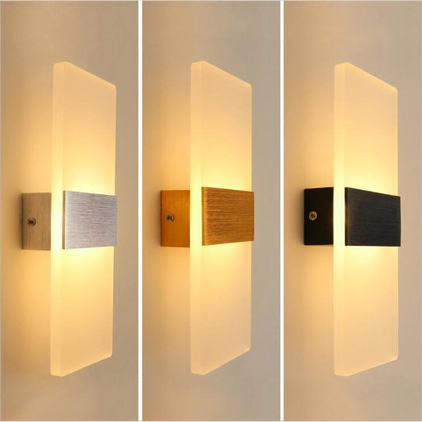 2019 New Modern 3w 6w Aluminum Wall Lights Kitchen Restaurant Living Bedroom Indoor Bathroom Fixtures Led Wall Sconce Lamps From Ok360 21 61