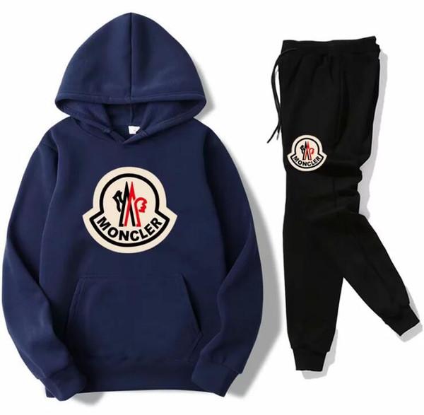Venda quente conjunto de moletom Designer de Treino Homens hoodies + calça Mens Roupas Pullover mulheres Casuais Tênis Esporte Treino Sweat Suit