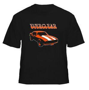 Camaro Everclear Retro Hot Rod Sports Racing Car Cool T Shirt