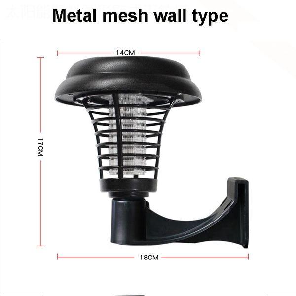 Metal mesh wall type mosquito killer