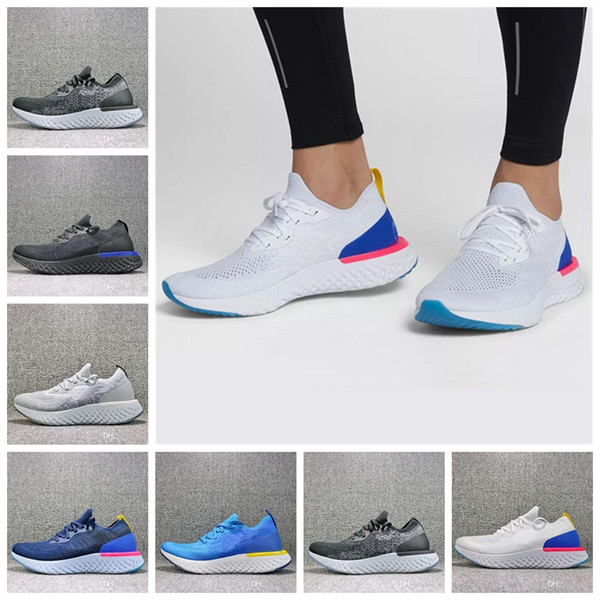 New Epic React Womens Mens Shoes Instant Go Fly Breath Comfortable Casual Size 5.5-11 For Sale Men Women Sneakers
