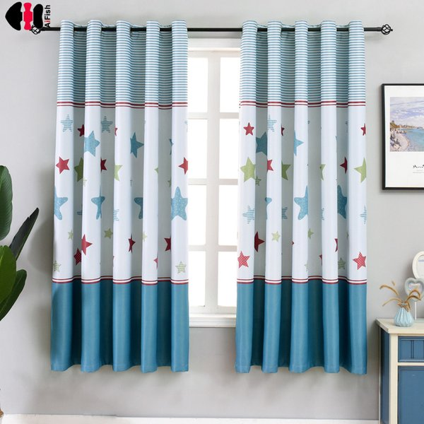 2019 W100xL200cm Short Curtains Blinds For Kids Children Boys Bedroom  Decoration Small Window Drapes PC011C From Hilery, $28.77 | DHgate.Com
