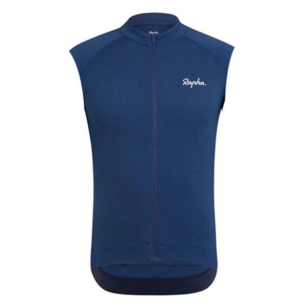 RAPHA ekibi Bisiklet Kolsuz forması Yelek Sıcak Satış Mens Yaz yarış bisikleti giyim Hızlı Kuru yol Gömlek U70367