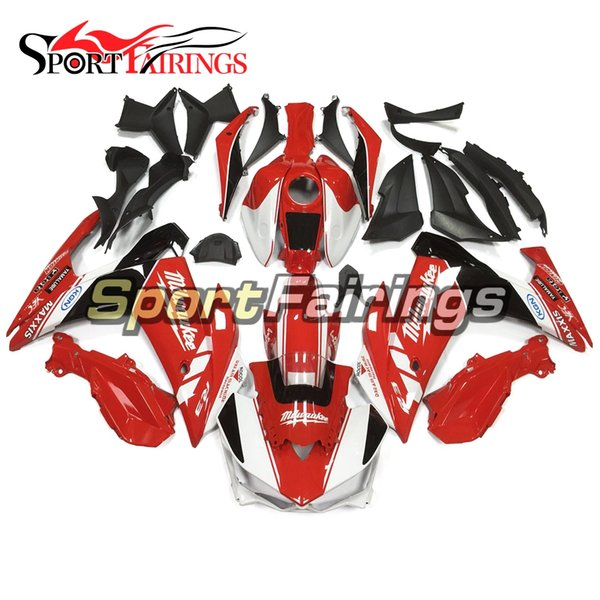 Complete Fairing Fit For Yamaha R25 R3 2015 2016 High Quality Complete Plastic Fairings 2015 2016 White Red Injection Molding Bodywork Kits