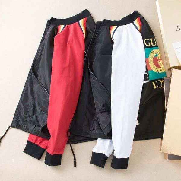 jean2 Primavera e Outono New padrão de estilo masculino gola lazer moda Tempo adolescentes Brasão solto Jacket 0722