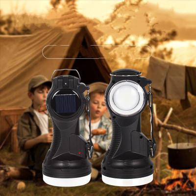 Solar Powered Rechargeable led Flashlight Solar Portable Emergency Lantern Cover Table Lamp Camping Light Tent Lamps