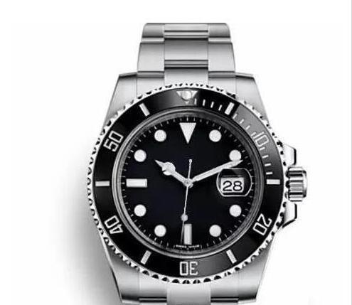 2019 Nuevo bisel de cerámica para hombre mecánico de acero inoxidable 2813 Relojes de movimiento Reloj deportivo Reloj de cuerda automática Relojes luminosos