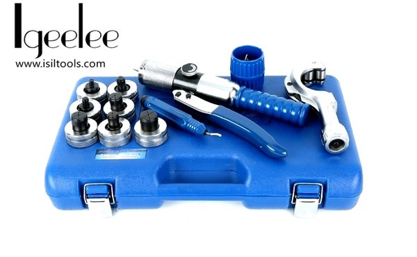 """best selling iGeelee HOT! Hydraulic Tube Expanding Tool CT-300 A M Range From 10-28mm or 1 2"""" to 11 8"""" with 7 dies"""