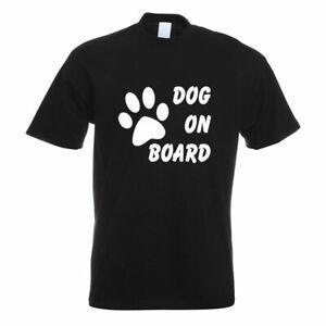 Dog on Board T-Shirt Motiv bedruNewt Funshirt Design Print
