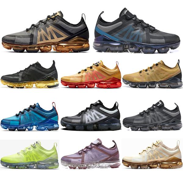 Nike Air Vapormax  Flyknit 2.0 Avec des chaussettes 2019 Top Qualité Fly Racer Chaussures De Course Noir Gris Volt Canyon Or Violet Léger Respirant Baskets Sneakers 36-45