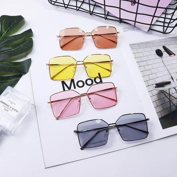 INS nuevas gafas de sol de moda para niños gafas de sol a prueba de ultravioleta para niñas gafas de sol de diseñador para niños gafas para niños accesorios para niños A7598
