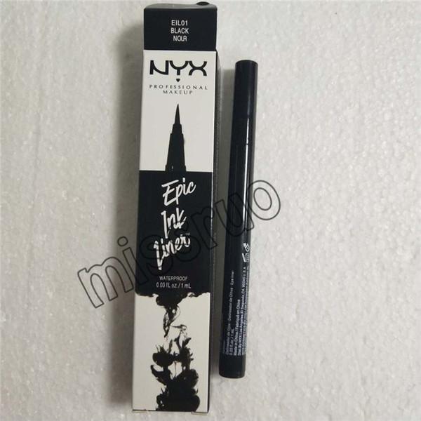 NYX Epic Mürekkep Astar nyx Siyah Eyeliner Kalem Başlı Makyaj Sıvı Siyah Renk Göz Kalemi Su Geçirmez Kozmetik Uzun Ömürlü 3001298