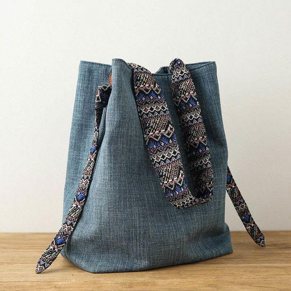 d74463f01662 Женская сумка из плотной ткани сплошного цвета Сумка на плечо Женская большая  сумка Пляжная сумка Женская сумка из плотной ткани большой емкости