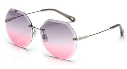 Lentes Cor: rosa cinza