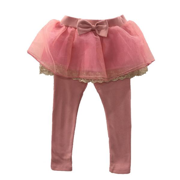 WNLEIGEL Spring autumn girl baby pants kids leggings Skirt-pants 1-7 years old