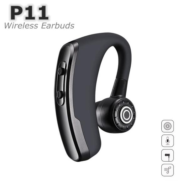 P11 Kablosuz Kulaklık v4.2 Bluetooth Kulaklık 230 mAH Kulakiçi Pil Ekran Için Handsfree Kulaklık Gürültü Kontrolü Ile araba nehir
