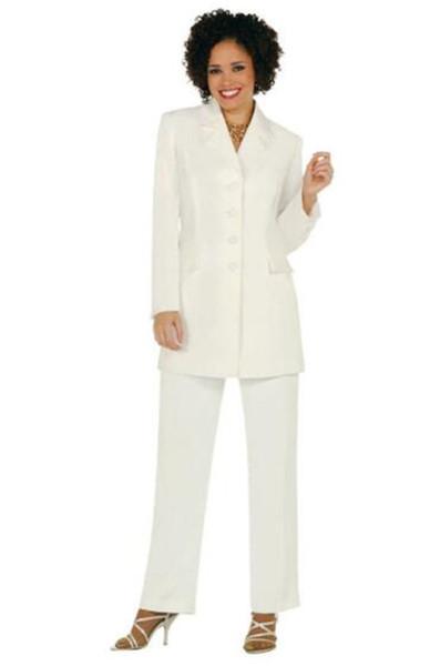 Notch Lapel Women Pantsuit Jacket Women Fashion Long Sleeve Suit Elegant Tailored Collar Jacket Suits Female Ladies